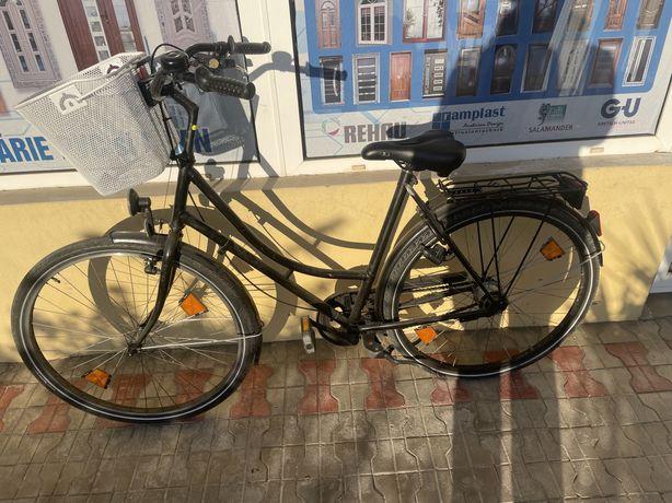 Bicicleta dame functioneaza perfect putin folosita!