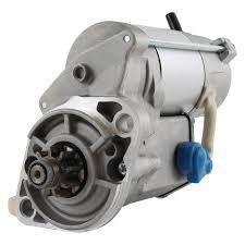 Electromotor motor KUBOTA 1.9d-reductor-9 dinti-4 cilindri-racire apa