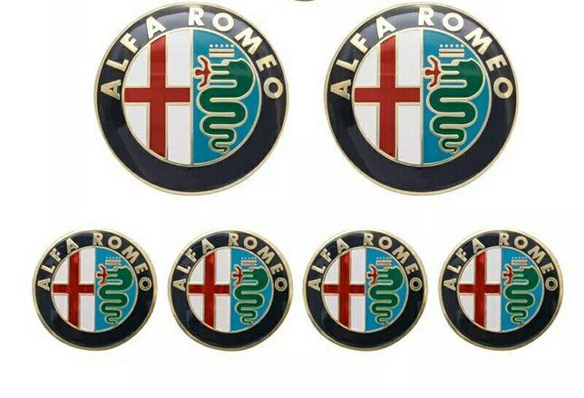 ALFA ROMEO - Set embleme