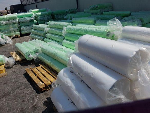 Найлон зеленикав UV стабилизиран 120 микрона полиетилен за оранжерии