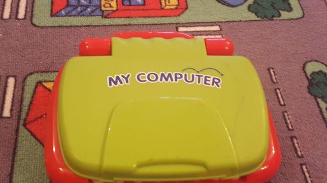 Laptop pt copii cu carduri cu activitati