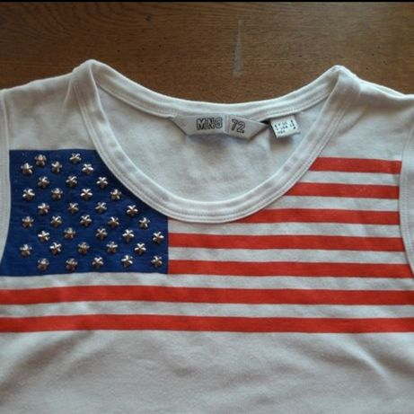 Tricou Mango model steagul SUA