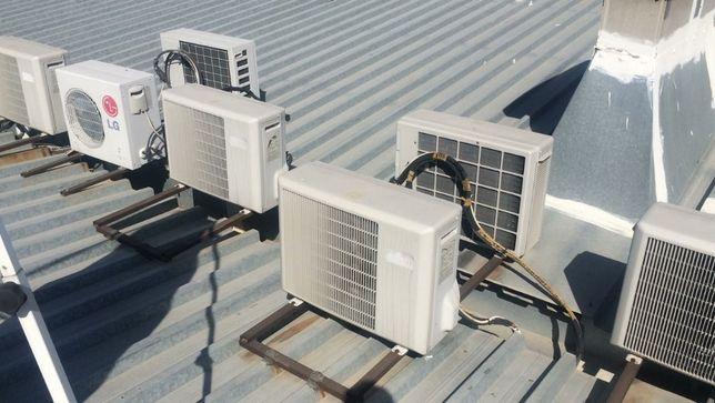 Установка,демонтаж,теплозавес кондиционеров,холодильного оборудования