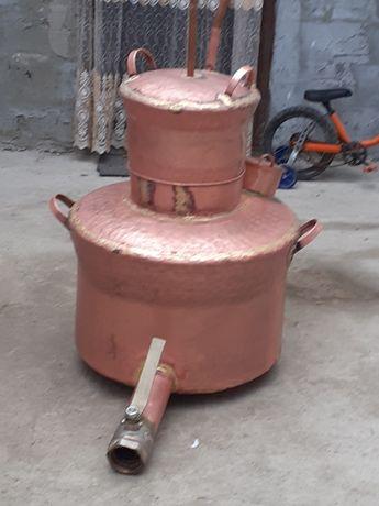 Vand cazane de țuică sau cupru de  30 de 50 de 60 de 80 de 100 de 120