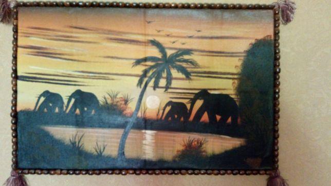 Картина в восточном стиле (масло)