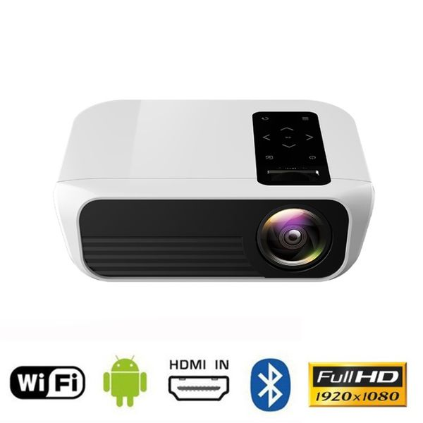Smart Android Мултимедиен LED проектор t8 1920x1080p HDMI WiFi 4500 lm гр. Шумен - image 1