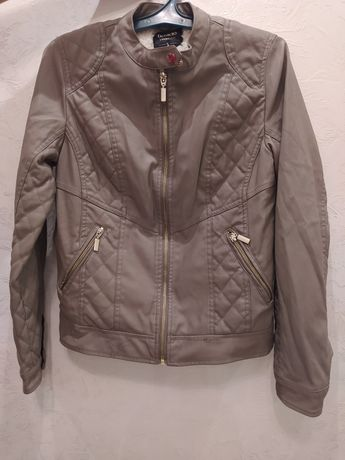 Куртка женская (кожзам и искусственный мех)