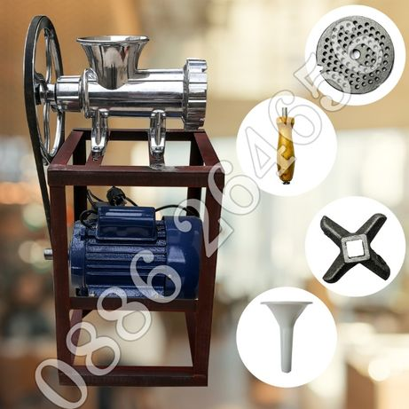 Немска Алуминиева месомелачка с ел мотор