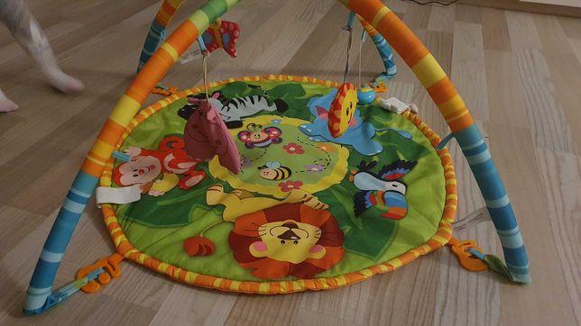 Play gym. Saltea multicolora de activități pentru bebeluși