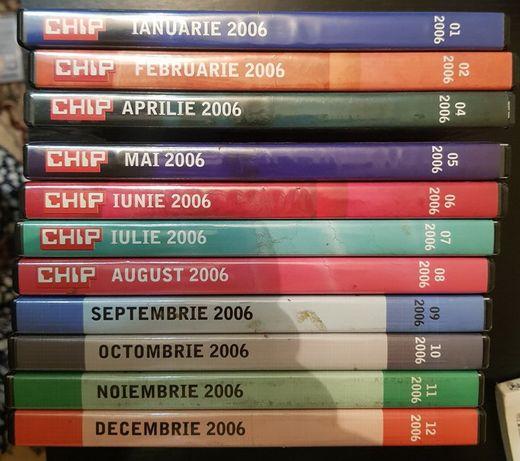 Colectie CD/ DVD revista Chip 1999 - 2008