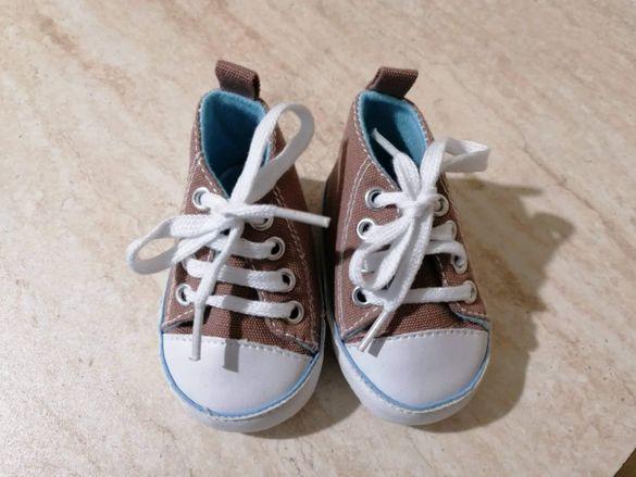 Бебешки обувки 0-6м