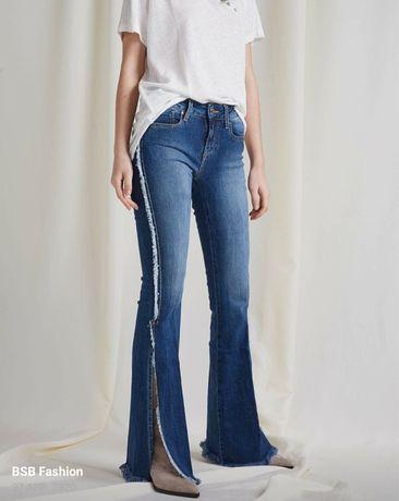 BSB Flared Jeans, măsura 44, slimfit, cu etichetă