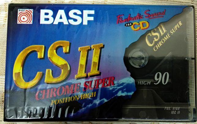 Аудиокассета / новая кассета BASF chrome