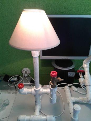 Намалена от52лв- Авангардна Нощна лампа, Екстравагантна настолна ламп