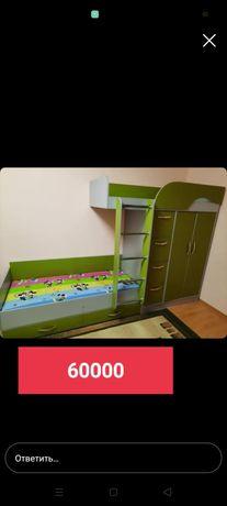 Продам детский 2 ярусный кровать