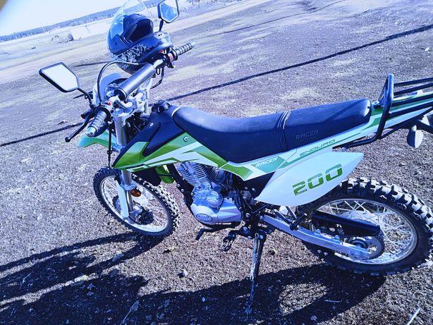 мотоцикл эндуро Рейсер 200 куб