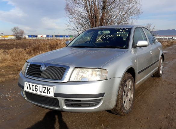 Skoda SuperB 2.0tdi,На части