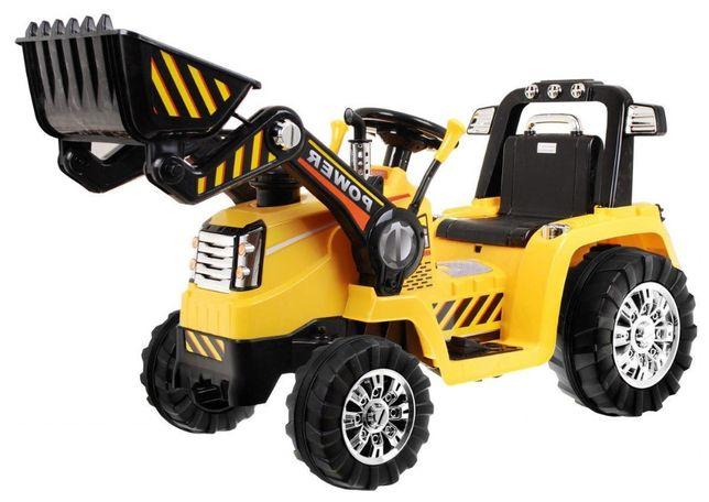 Tractor electric pentru copii cu Telecomanda 2.4GHz (1005) galben