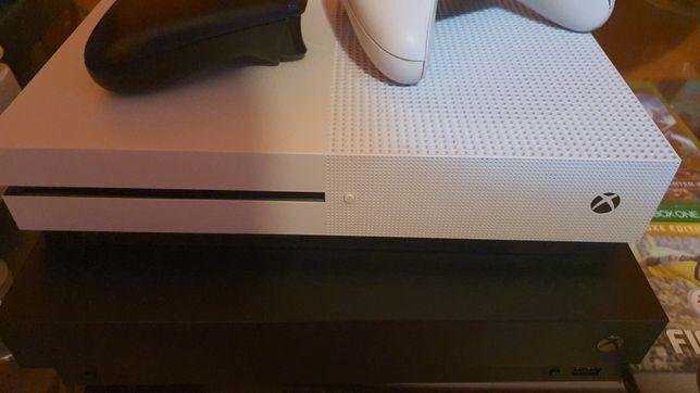 Xbox one s alb 500 gb xbox one x negru 1tb