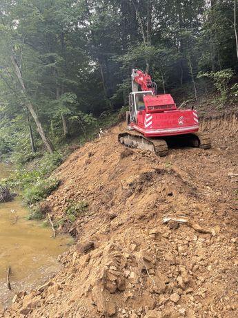Excavari demolari constructii drumuri poduri lacuri si balti pescuit