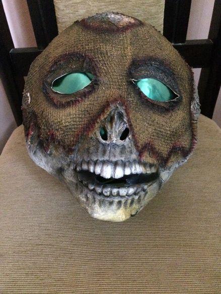 Лицева латексова маска