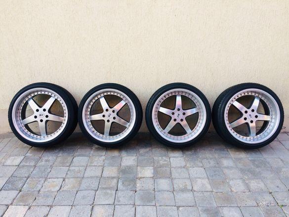 """Джанти с гуми за Audi """"PW"""" 19 цола 5x112 ET 35"""