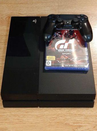 Playstation 4,ps4 fat 500гб,гран туризмо
