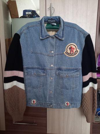 Продаю веши женские 40-42 го размера  джинсовая куртка L размера