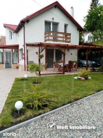 Paradis verde in Gheorgheni sat, teren 642 mp, casa 130 mp, mobilata