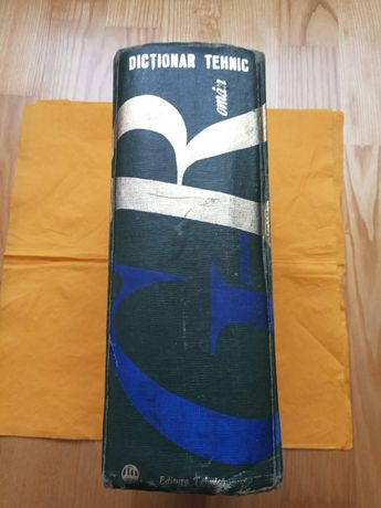 Dicționar Tehnic German-Roman/1966