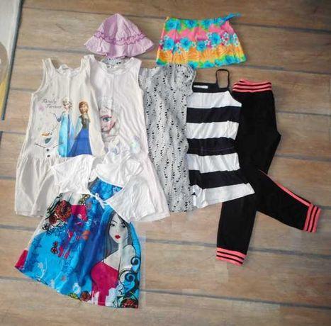 Лот oт много дрехи за момиче 6 - 8 год + подарък