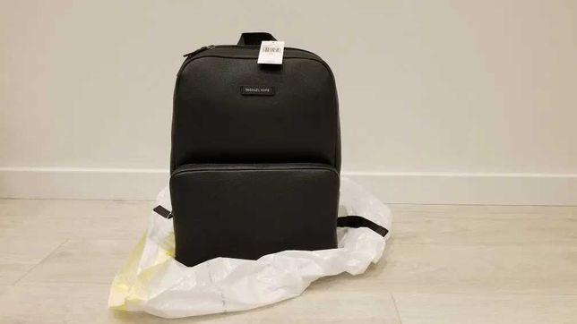 Мужской рюкзак Michael Kors Bryant черный кожаный Оригинал