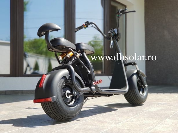 Scuter Harley Trotineta ELECTRICA Scooter Electric Chopper Bicicleta