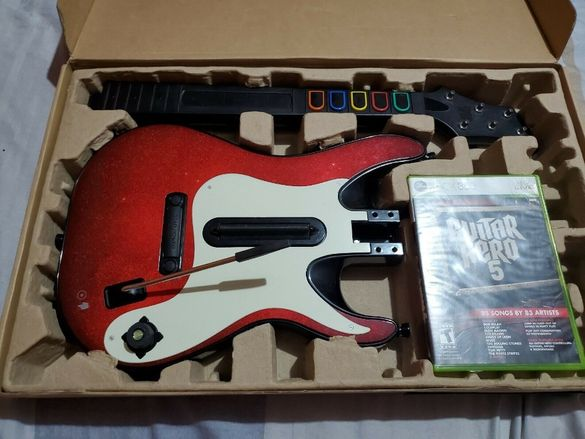 Безжична Китара Guitar Hero Controller Xbox 360/ps3/ps4/xbox one