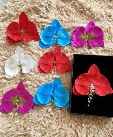 Cercei orhidee orchid +cadou