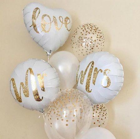 Сет балони за сватба, фотосесия