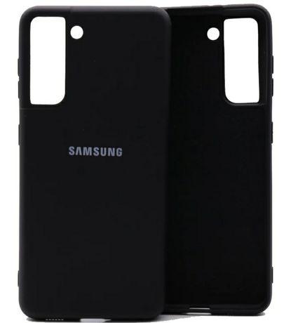 Силиконов кейс,гръб,калъф за Samsung S21,S21 plus,S21 ultra лого