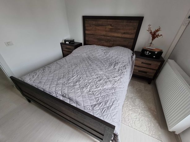 Mobilier dormitor Mobexpert Hunter fara saltea