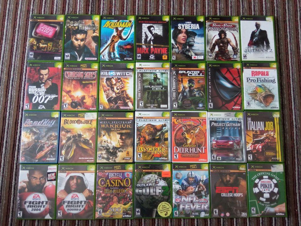 Xbox original игры/диски