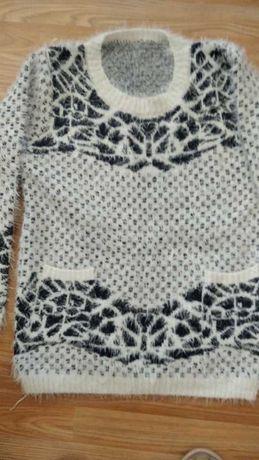 Блуза от акрил с два джоба