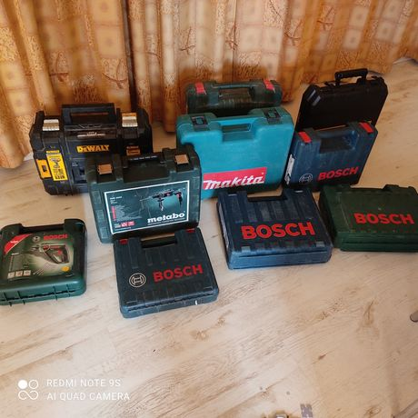 Куфар metabo dewalt bosch hitachi makita
