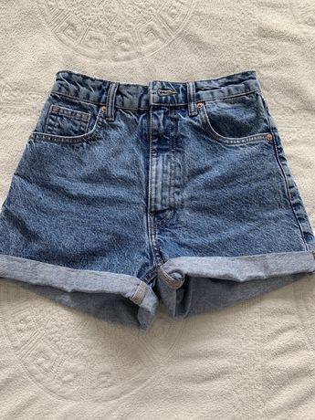 Продам джинсовые шорты ZARA