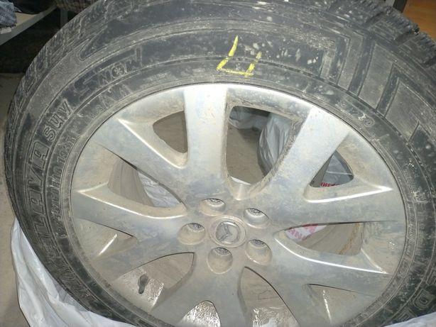 Зимняя шина  с диском