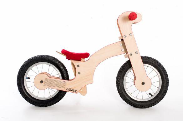 Ново българско дървено детско колело за баланс