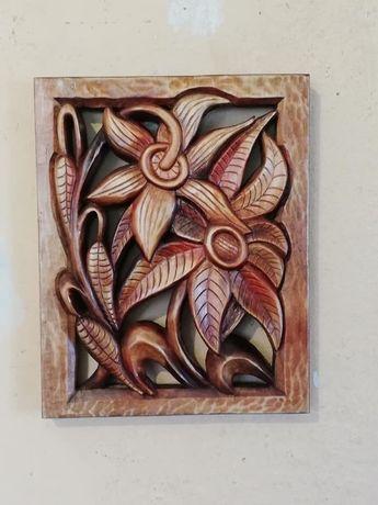 Дърворезба - Цветя