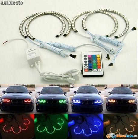Angel Eyes multicolor RGB -16 culori compatibil cu BMW e46,e36,e39,e38