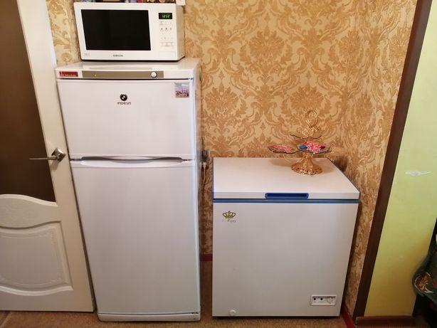 Продам холодильник, морозильник,микроволновка, за всё 100тыс.