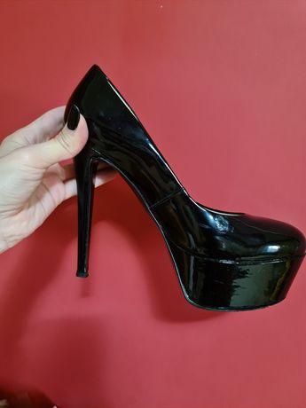 Pantofi Why Denis piele
