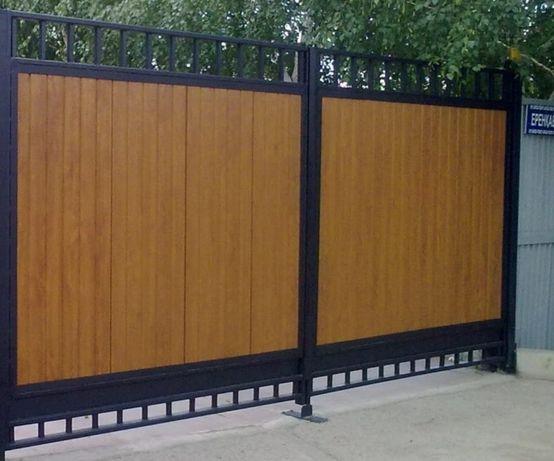 Ворота, калитки металлические.
