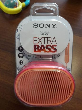 Колонка Sony SRS-XB01- водоустойчива